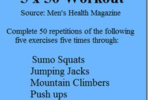 Insperation and workouts / by Samantha Buford