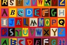 Alphabets, Numbers & Symbols / by Janine Hunt