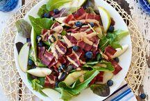 Main Dishes ~ Bacon, Bacon & More Bacon ~ / by Sue Berberick