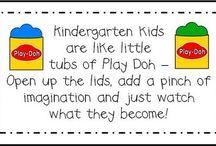 kindergarten stuff / by Gina Hester