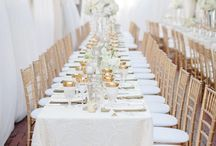 White Wedding Ideas / Inspiration and ideas for a white wedding color palette.  / by Elli