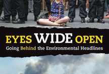 Eyes Wide Open: Going Behind the Environmental Headlines /  Suddenly everything needs rethinking. It's a changed world.This book explains it. Not with isolated facts,but the principles driving attitudes and events, from vested interests to denial to big-country syndrome.Because money is as important as molecules in the environment,science is joined with politics,history,and psychology to provide the briefing needed to comprehend the 21st century.   / by Candlewick Press Common Core Classroom