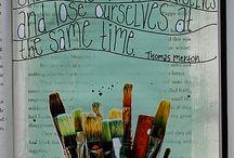 Art Journal / by Julie (Libélula)