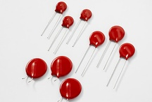 Varistors / Multiple forms, from Metal Oxide Varistors (MOVs) that suppress transient voltages to Multi-Layer Varistors (MLVs) designed for applications requiring protection from various transients in computers and handheld devices as well as industrial and automotive applications. / by Littelfuse