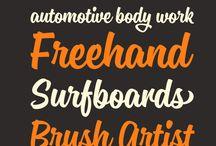 Typography / by Maria LoScerbo