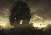 Mech & sci-fi / by Jesstar666