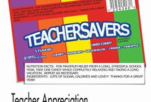 School-Teacher appreciation / by Kristi Franks
