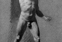 male nude / by Jessica Hill