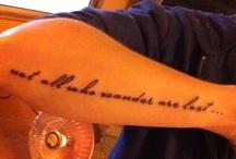 Tattoos / by Bianca Lombardi