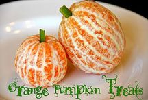 HEALTHY HALLOWEEN TREATS FOR KIDS / Healthy snacks to keep Halloween festive, fun and delicious without the sugar and unhealthy treats / by Beatriz Ball Collection