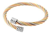 Stainless steel bracelets / by Hot Buckles and Fashion Apparel