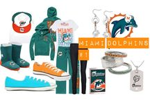 Miami Dolphins & football / by Kristen Pannone