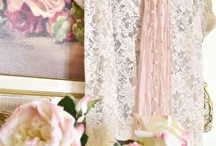 LACE, ROSES & ROMANCE / by Linda Miller Woodward