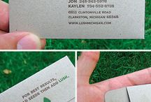 Business cards / by Carla B