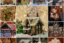 gingerbread houses / by Lillian Minne