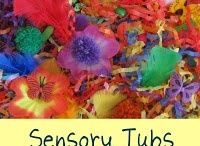 sensory table ideas / by Vicki LaFountain Ryea