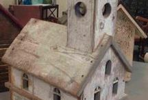 Birds - Birdhouses / by Coletta Musick