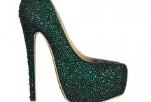 These shoes...  / by Marie Denee, The Curvy Fashionista