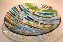 fused glass / by Carol Dickson