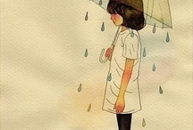 <3 illustrations / Pinned this according to my art taste   / by Maghfirah Rifaad