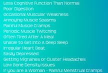 Magnesium deficiency / Lots of info on a mineral that when deficient destroys your health. Get it back again. / by Brenda Ball