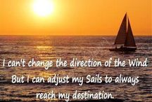 sails quotes / by Brittany Sklute