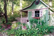 Homes and gardens / by Michelle Marshall