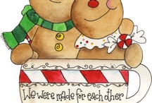 Christmas clipart / by Anne Anderson