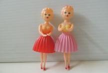 Dolls-Vintage / by Bobbie Hofmister