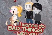 I wanna do bad things with you... / True Blood/Sookie Stackhouse books <3 / by Lysee H