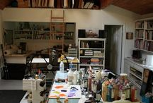 My dream art studio / by Nika's Studio