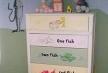 Nursery for Jeff & Nicole / Dr. Seuss / by Cheri Belshee