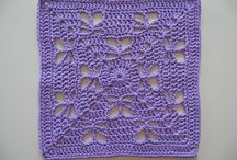 Crochet Afghan Square Ideas / Crochet Afghan Squares / by Twtywill Yarn Accessories