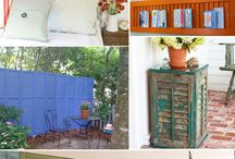 MAKEOVERS / upcycle and repurpose ideas / by Gina Harvell