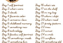 Photo challenges / by Mar