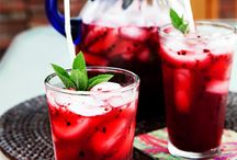 refreshing drinks  / by Milena de Jong