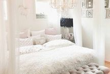 Bedrooms / by Abbie Kerbis