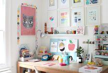Craft room / by Semra Bayrak