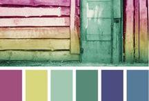 Color palettes  / by Design{on}Paper