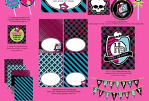 Monster High / by Nanna Sweeties