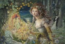 Fey, Faeries and Fancies / Because We Should Never Grow Too Old in Our Hearts to Believe in Magic. / by Amanda Hertel