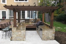 Outdoor Kitchen / by Tina Koral