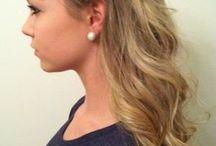Wedding hair / Ideas for cute wedding hair / by Kristina Corsino