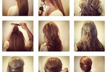 Hair ideas / by Hallee Kimber