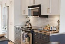 Kitchen - Need Paint and Backsplash Ideas / by Lisa Scherer