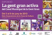 La gent gran activa del Casal Municipal de la Gent Gran / by Expovirtual @bibliolloret