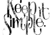 Simple (not minimalist) living / by Vintage Amanda