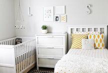 Little & Tillie's room xo / by Katie Brain