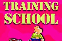 HUSBAND TRAINING SCHOOL / Battle Of The Sexes / by Ruth Harris