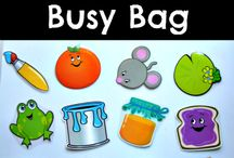 Busy bags / I thought this would be a good place to just organize good ideas for busy bags!  / by Jill Germroth